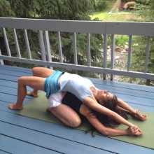 Partner Yoga Pose